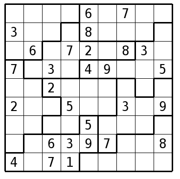 Resource image with jigsaw sudoku printable