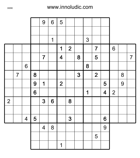 picture regarding Multi Sudoku Printable titled Sudo_5