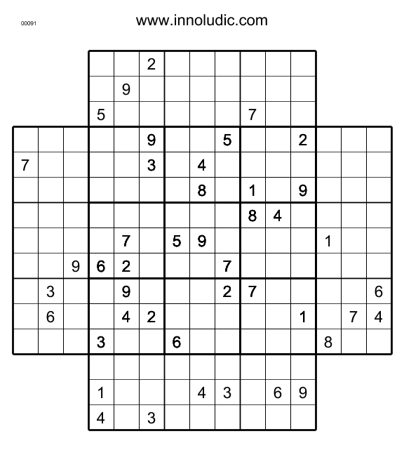 photograph relating to Multi Sudoku Printable named Sudo_5