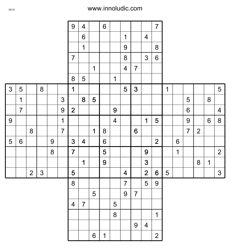 It's just an image of Gutsy Multi Sudoku Printable