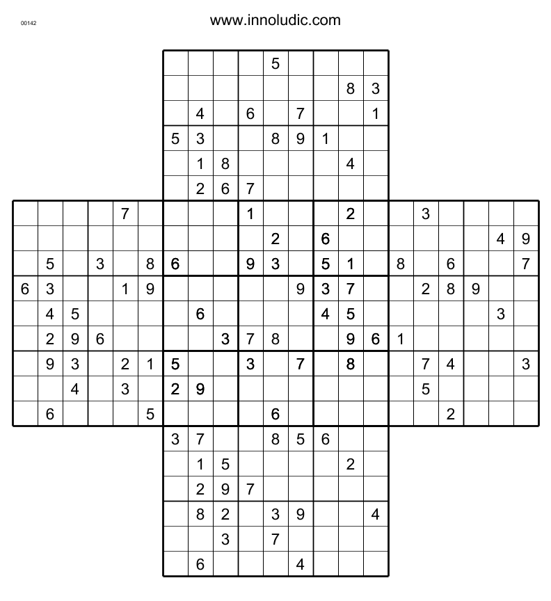 It is an image of Ambitious Multi Sudoku Printable