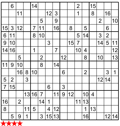 Eloquent image throughout 16 square sudoku printable