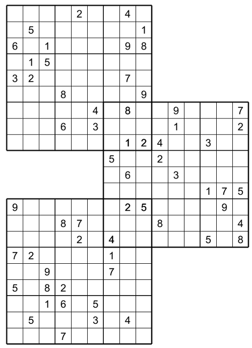 Superb image for multi sudoku printable