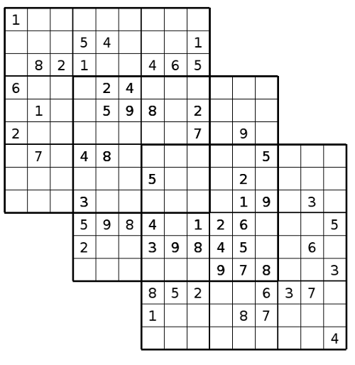 Clever image throughout multi sudoku printable