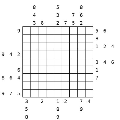 image about Sudoku Printable Pdf called Outdoors Sudoku no 2