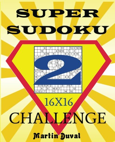 New Book about Super Sudoku 16x16